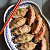 Chinese-Style Chicken Pot Sticker Dumplings