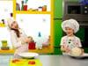 Chana & Menachem Cook Heart-Shaped Eggs