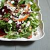 Arugula Salad with Beets, Pear, Feta & Pecans