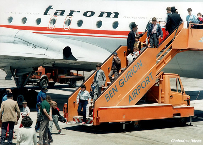 On Aug. 3, 1990, a Friday afternoon, the first plane of 196 Jewish children evacuated from regions effected by the Chernobyl nuclear disaster landed in Ben-Gurion International Airport. Spurred by the Lubavitcher Rebbe—Rabbi Menachem M. Schneerson, of righteous memory—Children of Chernobyl would eventually organize 100 flights, rescuing 3,000 children from the former Soviet Union.