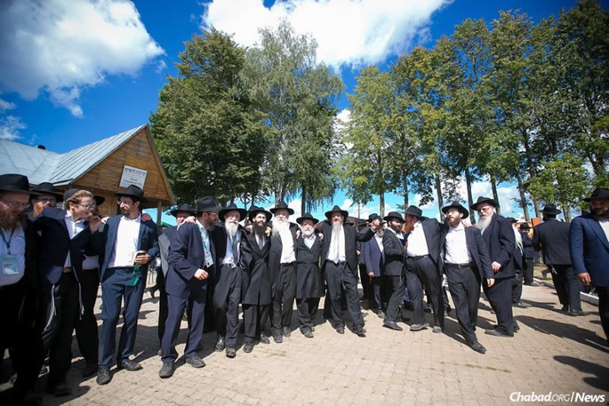 For almost 500 Chabad rabbis from throughout Europe who gathered at a conference in Russia, it was not just a time to discuss the many challenges facing their Jewish communities, but to celebrate, pray and reflect at many of the sites of the movement's founding that were closed to religious activity during the Soviet era. (Photo: Yehezkel Itkin)