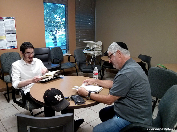 """""""The Austin Yeshivah Experience"""" is a learning program started seven summers ago in the Texas capital by Chabad rabbinical students. One of the biggest draws is the unadulterated study of Chassidic and Talmudic texts."""