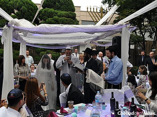 (Photo courtesy of the wedding party)