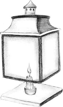 Fig. 18: A Lamp Resembling One Made from Component Parts