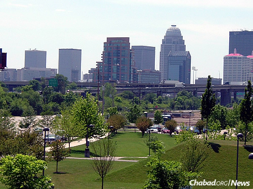The Louisville Waterfront Park exhibits rolling hills, spacious lawns and walking paths on Louisville's waterfront in the downtown area. (Photo: Wikimedia Commons)
