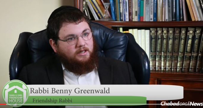 Rabbi Benny Greenwald led the annual Jewish recovery retreat sponsored by the Daniel B. Sobel Friendship House in Michigan.