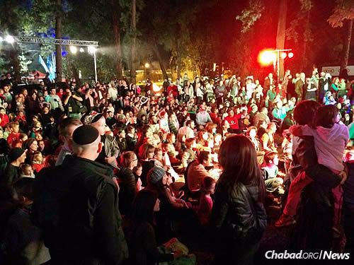 The annual Lag BaOmer event attracts between 4,000 and 5,000 people a year from 50 different communities.