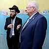 Israeli President Visits Mumbai Chabad House, Where 'Darkness Battled Light'