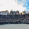 Thousands of Rabbis Gather for the 2016 Group Photo at Conference of Chabad-Lubavitch Emissaries