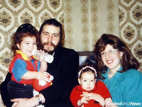 The Mosvkovitz family in their early years