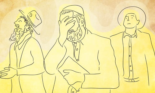 Shuckling: Why Do Jews Rock While Praying? - The Swaying Candle - Prayer