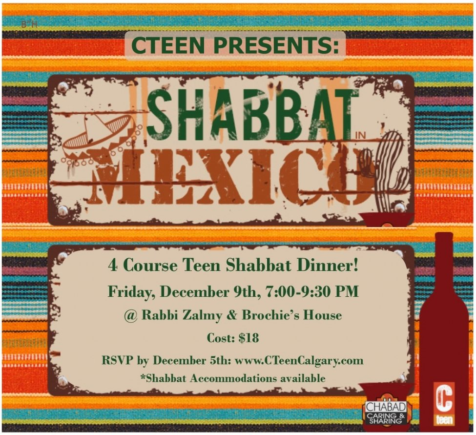 Shabbat in Mexico!