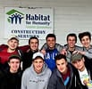 Greensboro, N.C., Chabad Volunteers at Habitat for Humanity