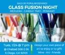 Glass Art & Appetizers
