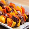 Meat & Pepper Kebabs